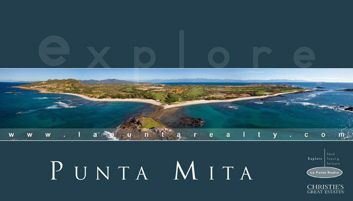 Explore Punta Mita Mexico - Riviera Nayarit luxury residential real estate and vacation rentals