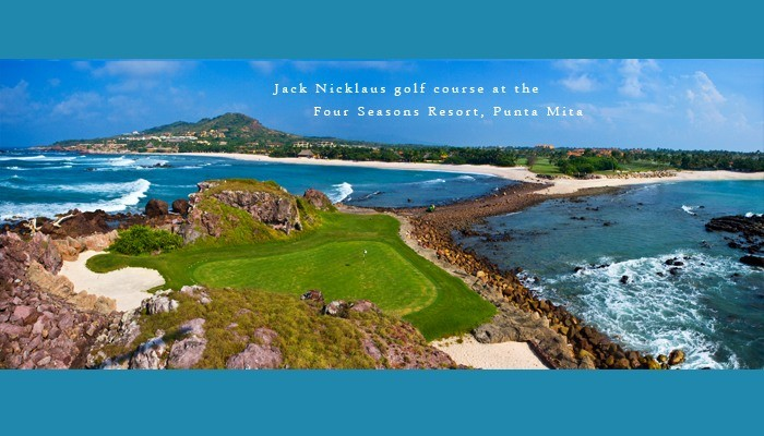 Tale of the Whale - Pacifico golf course by Jack Nicklaus - Four Seasosn / St. Regis, Punta Mita Resort, Riviera Nayarit, Pacific Mexico