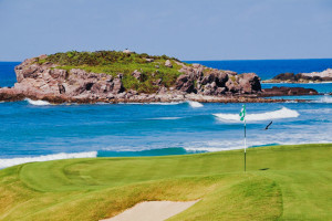 The Jack Nicklaus golf course at the St. Regis Resort, Punta Mita, Mexico