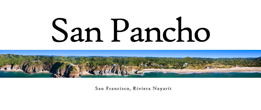 San Francisco - San Pancho Riviera Nayarit Pacific Mexio