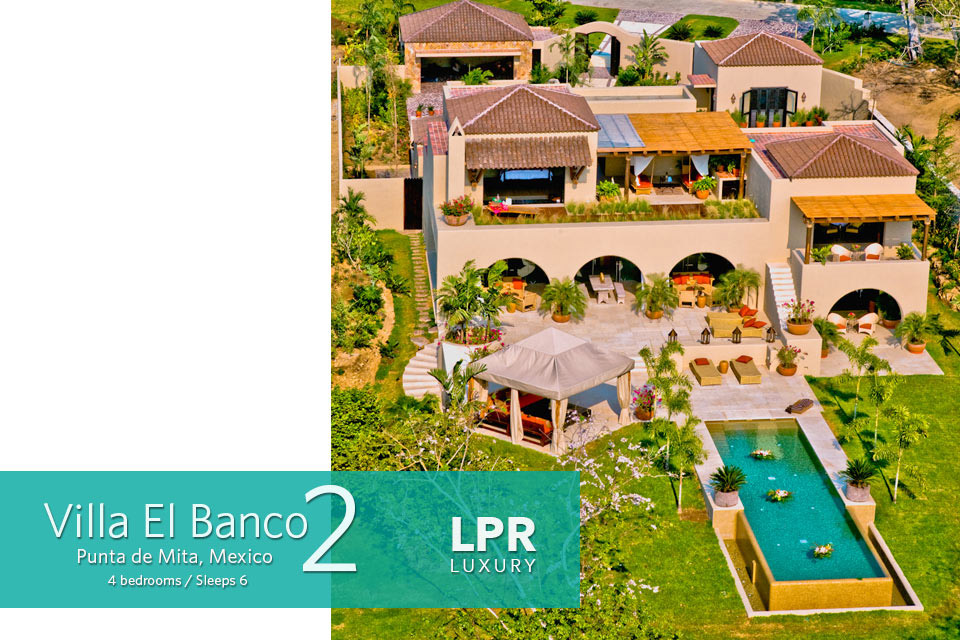 El Banco Beach, all to yourself: The Exquisite El Banco Beach Villas – Punta de Mita, Riviera Nayarit, Mexico