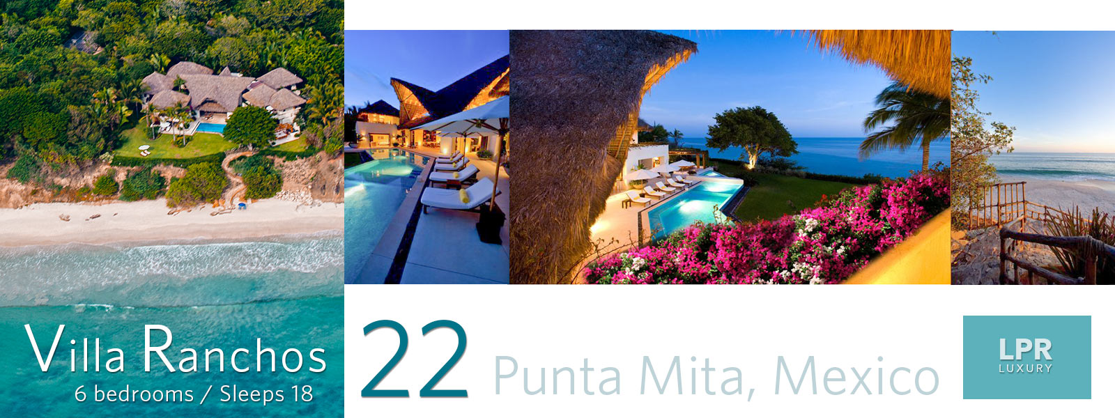 Villa Ranchos 22 at the Four Seasons / St. Regis Punta Mita Resort Mexico