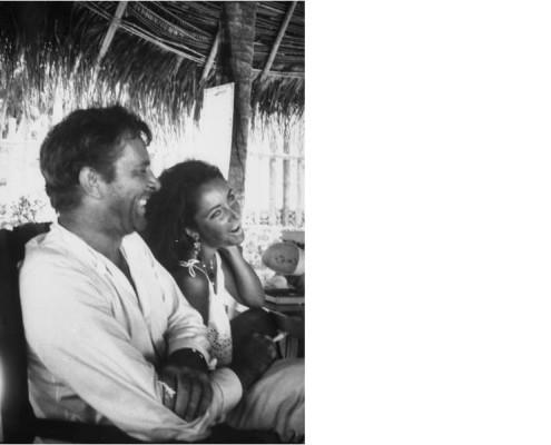 Elizabeth Taylor and Richard Burton in Puerto Vallarta