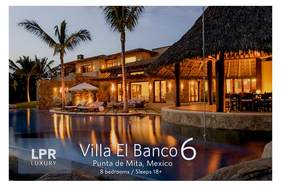 Villa El Banco 6 - Luxury Vacation Villa Rentals - Punta de Mit, Riviera Nayarit, Mexico