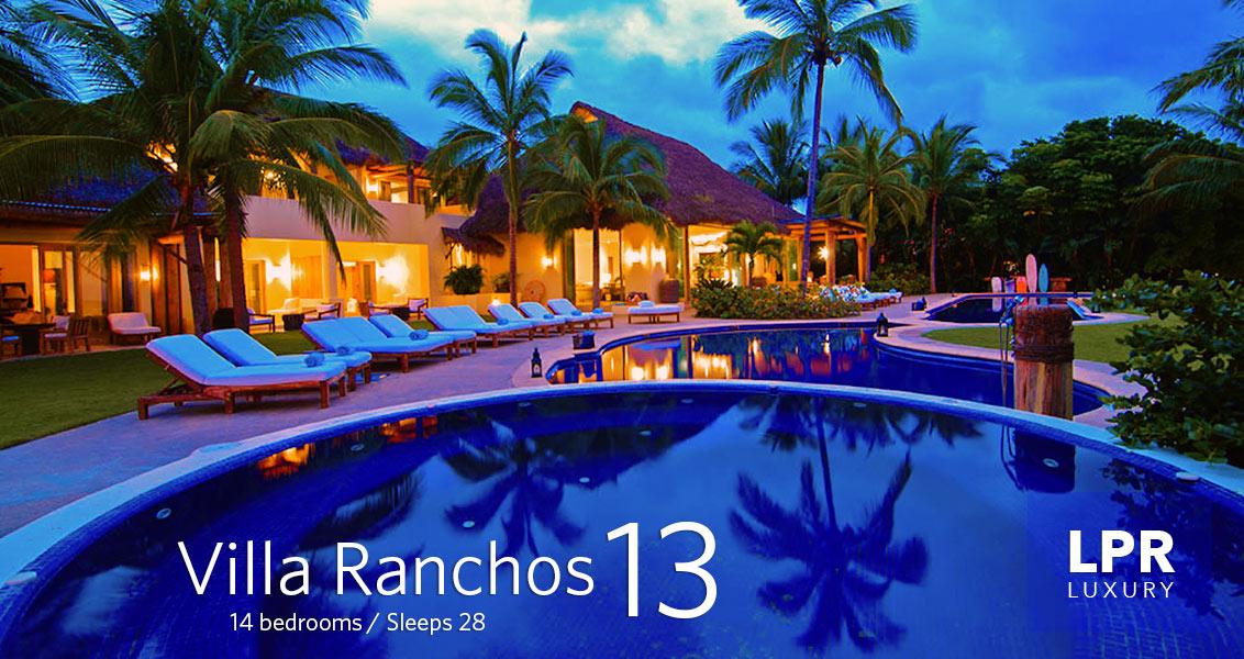 Casa Aramara - Villa Ranchos 13 - Luxury Punta Mita Vacation Rental Villa