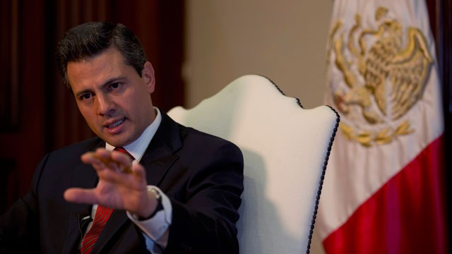 Enrique Pena Nieto - Mexico's President Alters Tactics Against Drug Crimes
