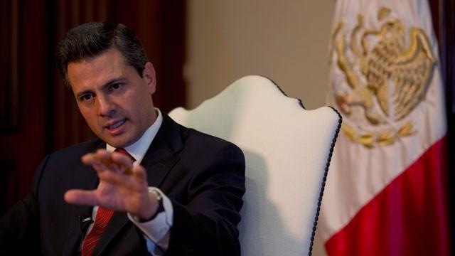Enrique Pena Nieto - Mexico's President Alters Tactics Against Drug Crimes