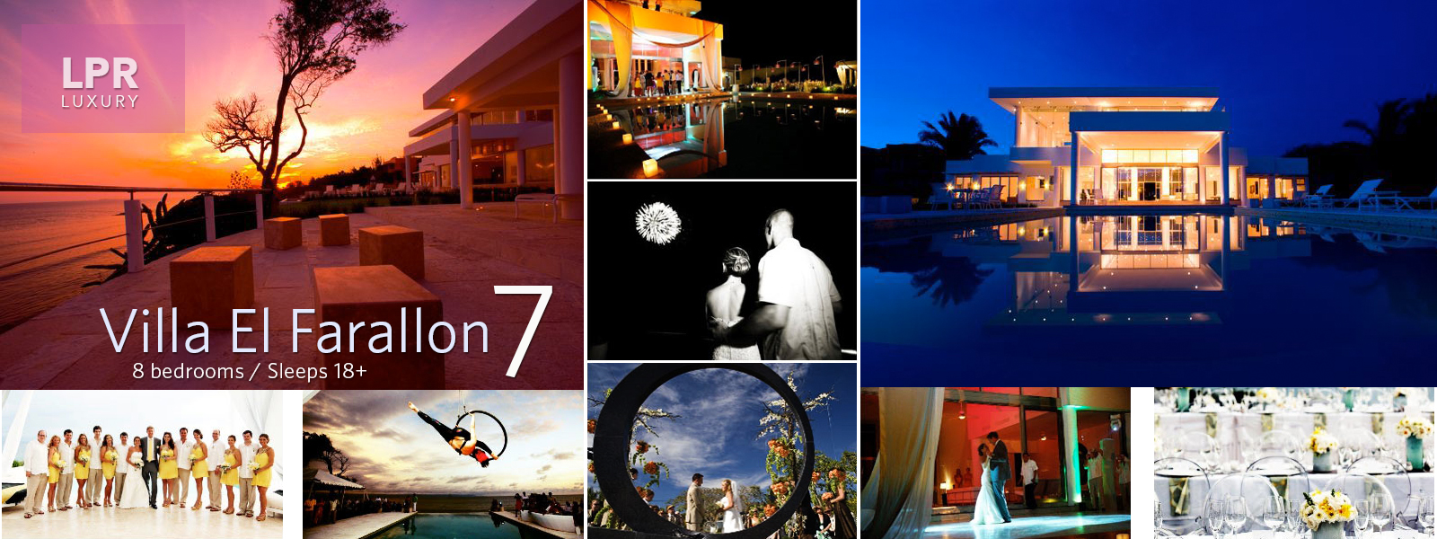 Villa El Farallon 7 - Puerto Vallarta Wedding Villas and Events - Punta Mita Mexico