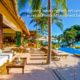 Casa Amore sits on soft white sand overlooking sunsets, the Marietas Islands and the world renown Punta Mita Resort, Riviera Nayarit, home to the Four Seasons & The St. Regis resorts