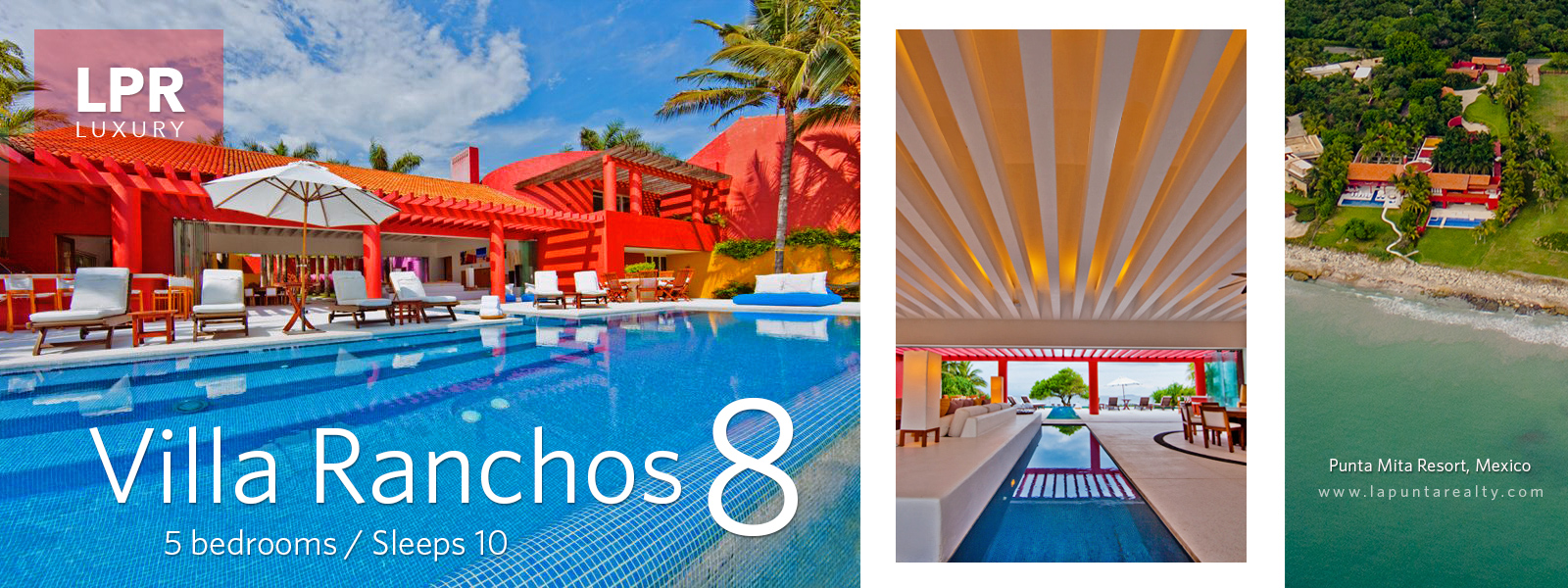 Villa Ranchos 8 - Punta Mita Mexico - Luxury Resort Real Estate and Vacation Rentals Villas