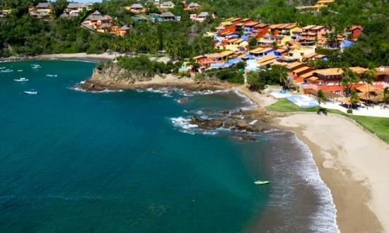 Playa Rosa at Costa Careyes Mexico