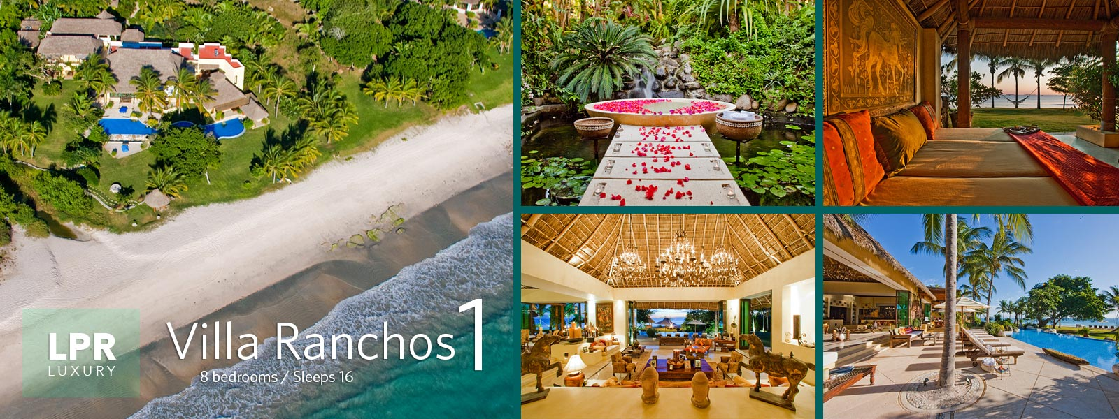 Villa Ranchos 1 - Luxury Vacation Rental Villa at the Punta Mita Resort, Riviera Nayarit, Mexico