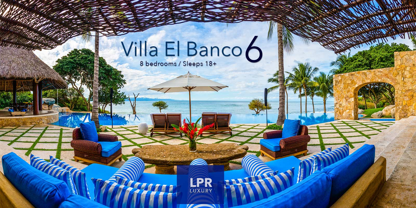 Villa El Banco 6 - Ultra Luxury Punta de Mita Vacation Rental Villa - Mexico