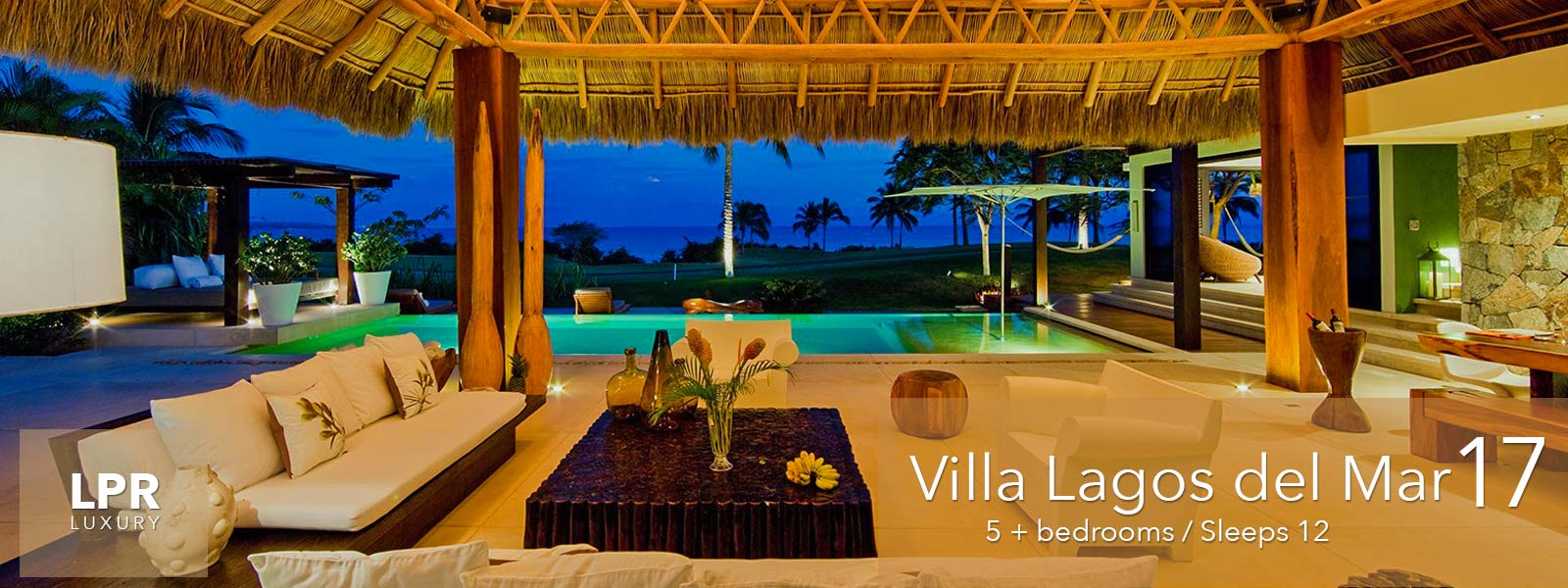 Villa Lagos del Mar 17 - Luxury Vacation Rental Villa on the Jack Nicklaus golf course at the Punta Mita Resort, Riviera Nayarit, Mexico