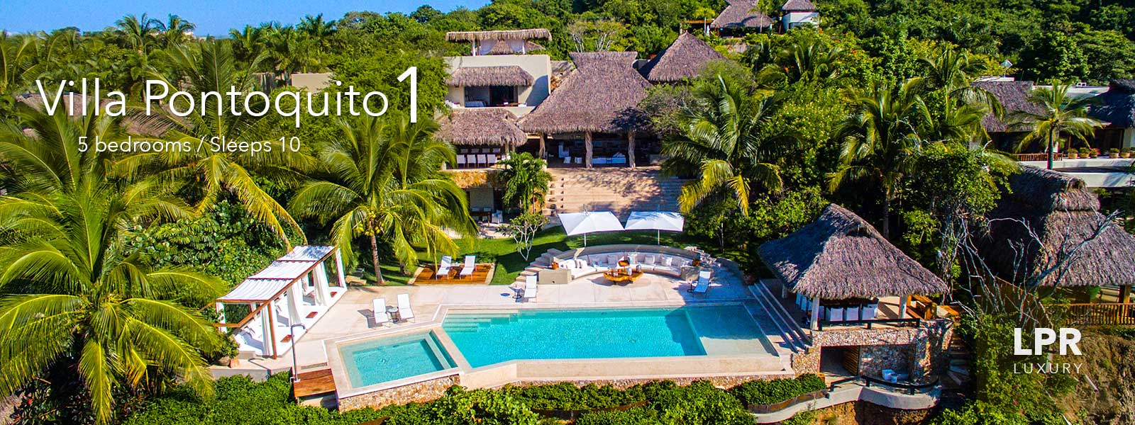 Villa Pontoquito 1 - Ultra Luxury Punta de Mita Real Estate - Beach Vacation Rental Villa For Sale in Mexico