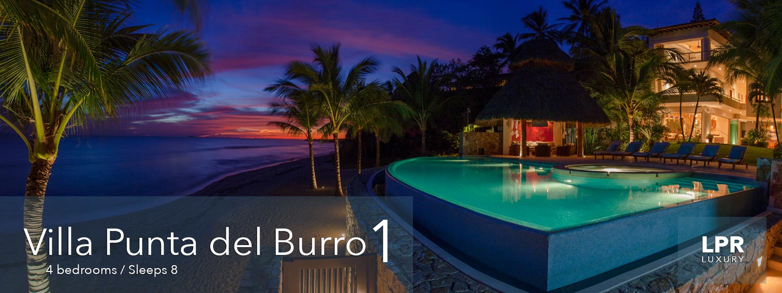 Villa Punta del Burro 1 - Luxury Real Estate and Vacation Rentals - Punta de Mita - Riviera Nayarit , Mexico
