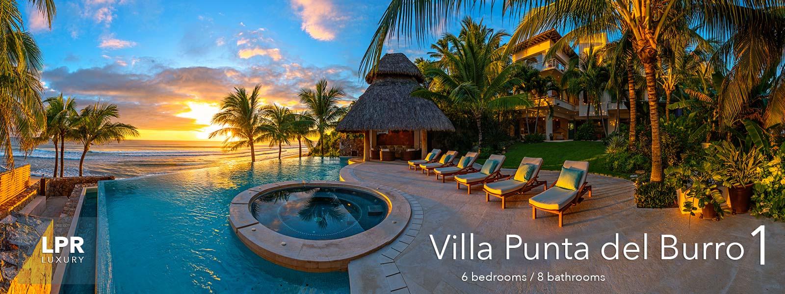 Villa Punta del Burro 1 - Ultra Luxury Punta de Mita Real Estate - Beach Vacation Villa For Sale in Mexico