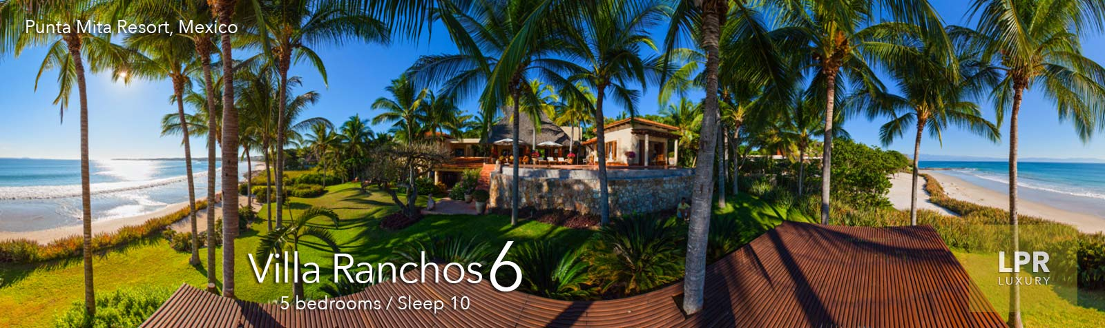 Villa Ranchos 6 - Luxury Punta Mita Resort - North Shore Puerto Vallarta Real Estate and Vacation Rentals