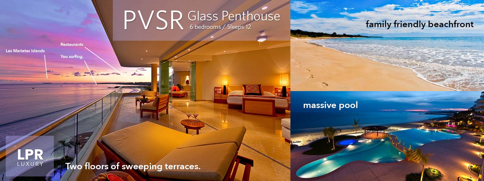 The Glass Penthouse - Playa Punta de Mita, Mexico