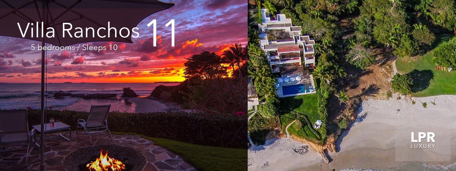 Villa Ranchos 11 - Luxury Punta Mita Vacation Rentals on Ranchos Beach at the Punta Mita Resort