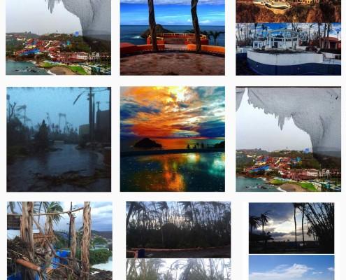 Hurricane Patricia - Mexico - Costa Careyes - Hurricane