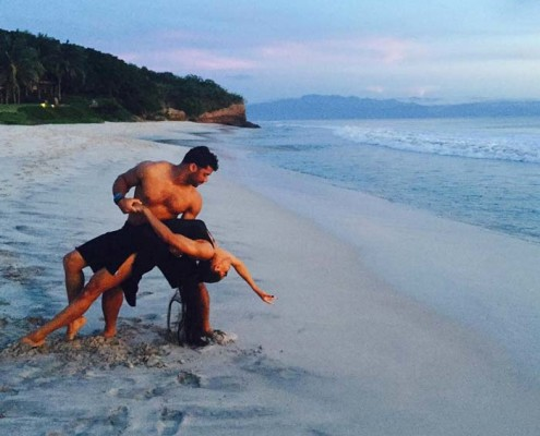 Russell Wilson and Ciara Punta Mita Mexico