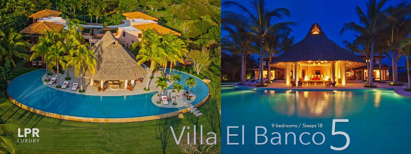 Villa El Banco 5 - Luxury Punta de Mita Vacation Rental Villa