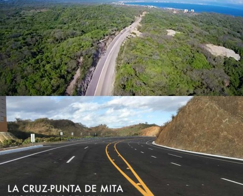 New Punta Mita highway