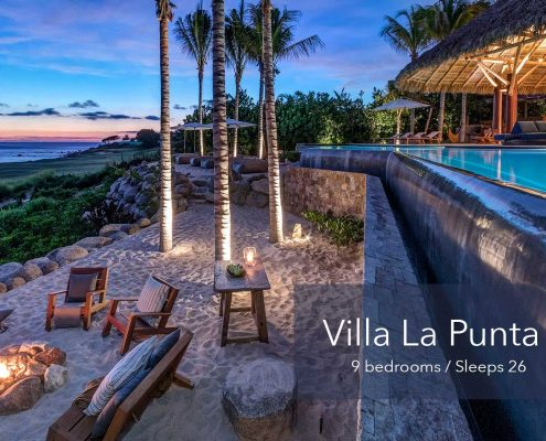 Villa La Punta 15 - Large Ultra luxury vacation rental estate villa at the exclusive Punta Mita Resort, Riviera Nayarit, Mexico