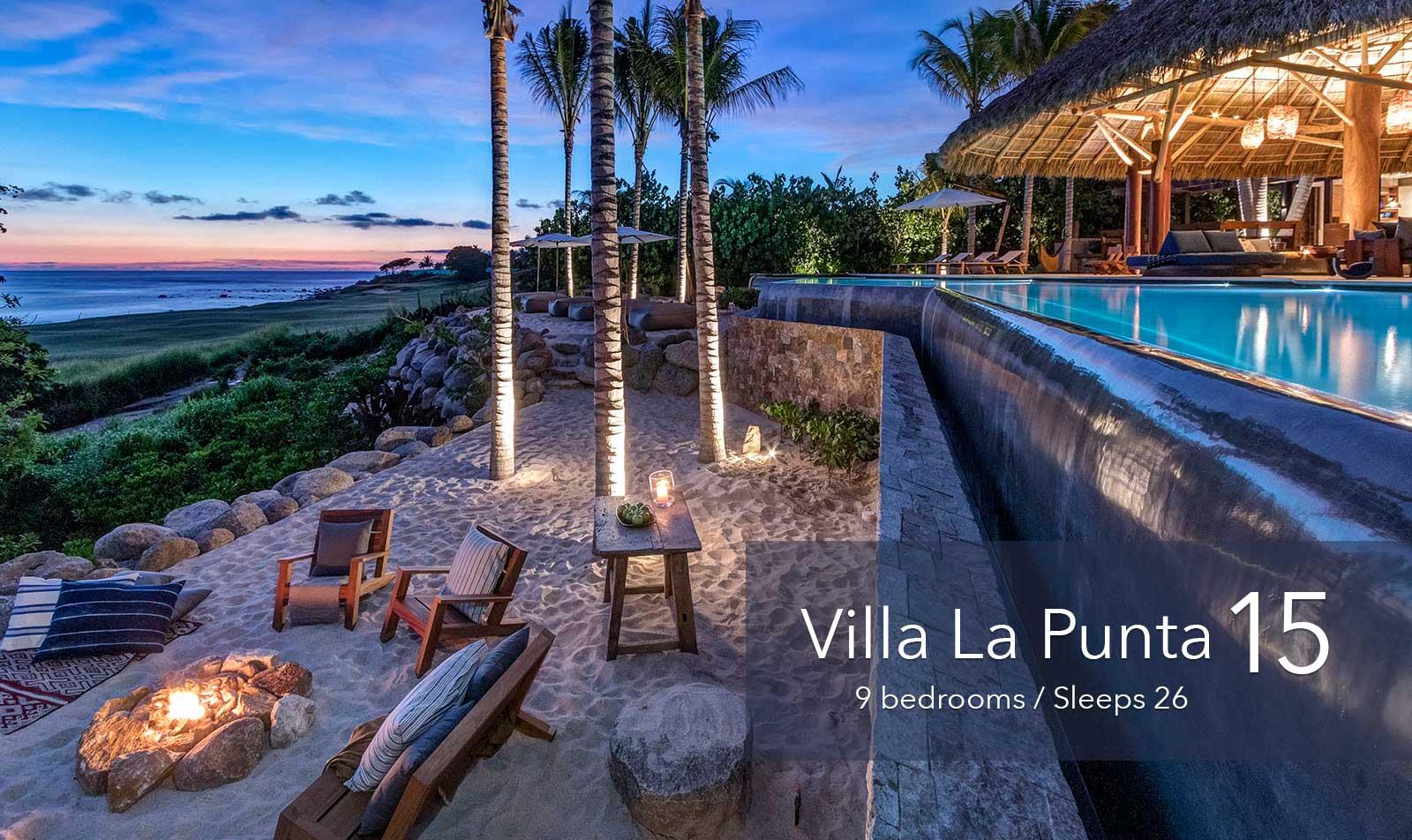 Villa La Punta 15 - Large Ultra luxury vacation rental estate villa at the exclusive Punta Mita Resort, Riviera Nayarit, Mexico