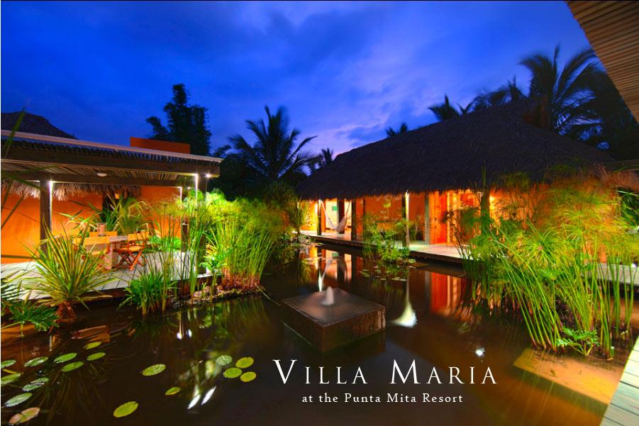 Bali Meets Mexico Villa Maria At The Punta Mita Resort