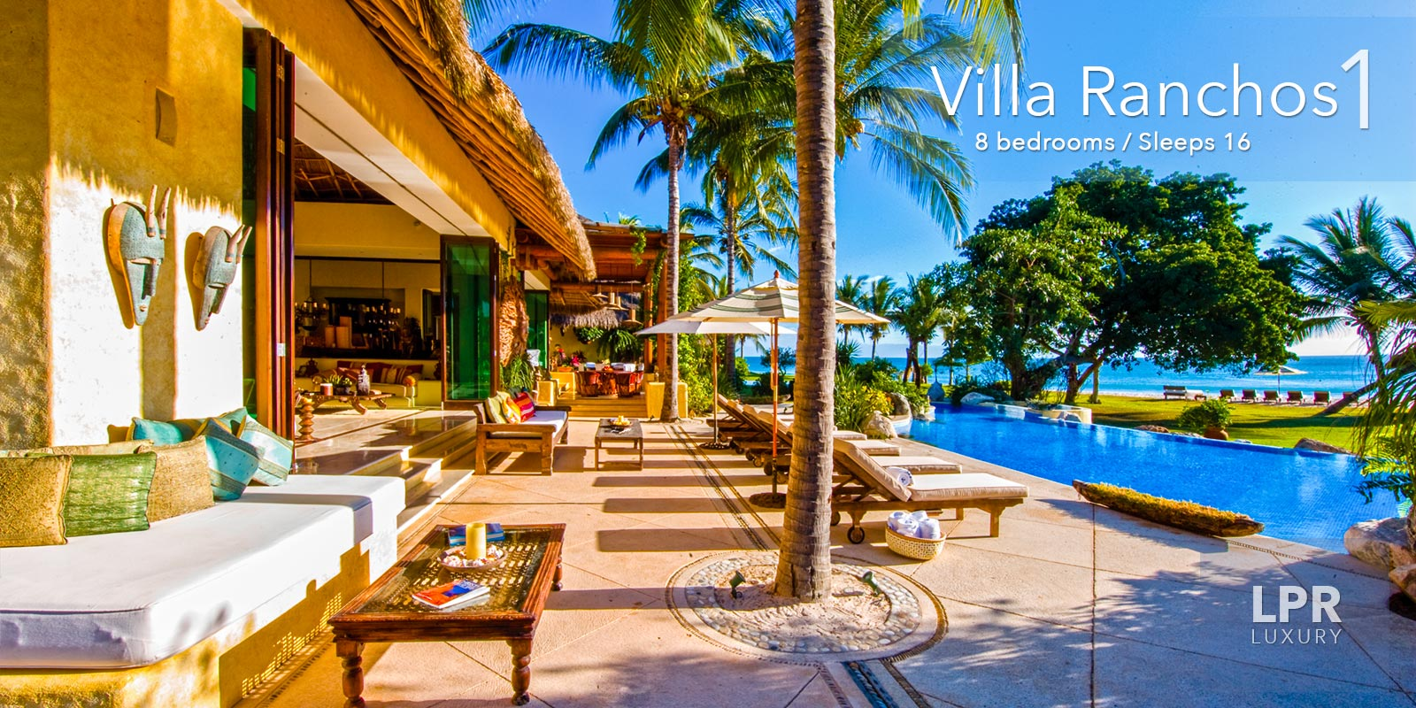 Villa Ranchos 1 Is Your Own Five Star Resort On The Finest Beach At Most